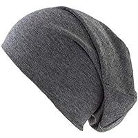 shenky - Berretto unisex lungo - jersey - grigio scuro 4f9b27b5753c