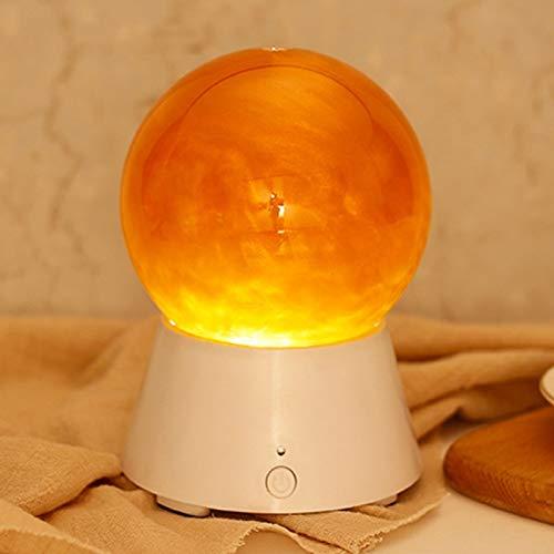 Veilleuse LED Creative SATURN Planète Conception Magic Music Basse Sound Box Bluetooth V2.1 + EDR Haut-Parleur Atmosphère Nuit Lampe Nouveauté Cadeaux