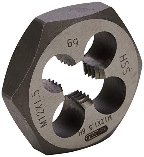 KS Tools 333.0038 HSS Sechskant-Schneidmutter MF, M12x1,5