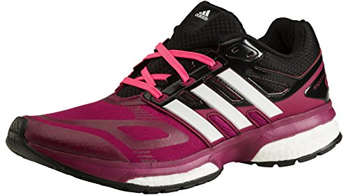 Adidas - Response Boost Techfit W, Sneakers da donna TRIBER/RUNWHI/BLACK1
