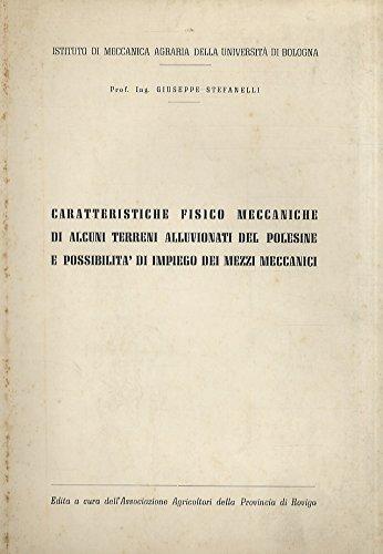 Stefanelli Giuseppe. - DI ALCUNI TERRENI ALLUVIONATI DEL POLESINE