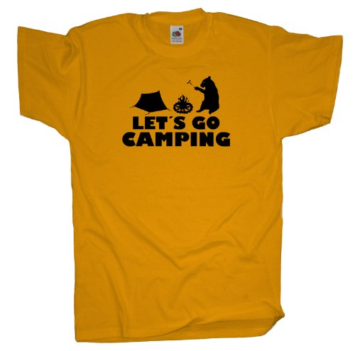 Ma2ca - Let´s Go Camping T-Shirt Sunflower