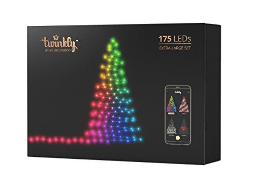 Twinkly - 175 LEDs, Illuminazione per albero di Natale controllabile via smartphone....