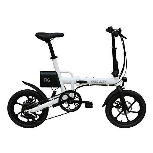 Bicicleta eléctrica 16 pulgadas Ebike plegable Bicicleta