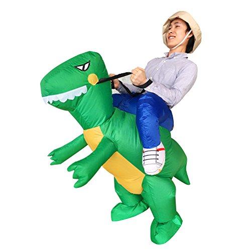 Halloween erwachsene aufblasbare Fahrt Dinosaurier T-Rex-Partei-Kleid-Klage-Fantasie-Kostüm