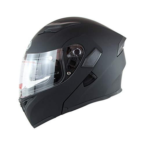 Doppelobjektiv Flip Up Moto Motorradhelme Männer Anti Fog Sunproof Full Face Motorrad Helm Motocross Sicherheit Kappen - Helm Motorrad Lazer