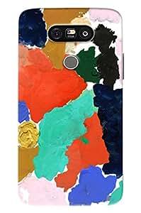 Blue Throat Color Art Effect Printed Designer Back Cover/ Case For LG G5