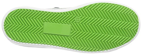 Bisgaard Unisex-Kinder Shoe with Laces Low-Top Weiß (148 white-green spots)
