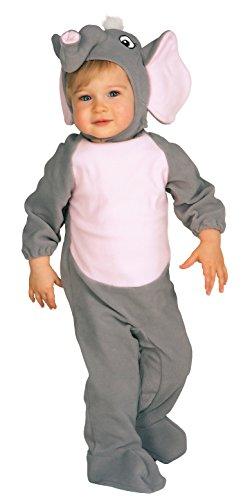 Disfraz de elefante para niño,  Talla bebé 6- 12 meses (Rubie s 81215- I)