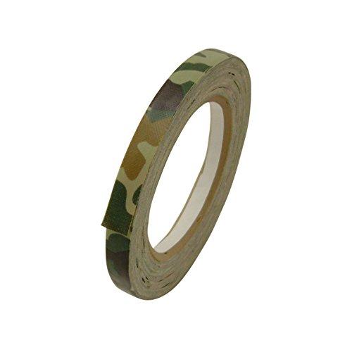 J.v. Converting cam-01Premium Grade Camouflage Klebeband 1/2in. X 25YARDS. (12mm x 23m) Woodland Forest Green -