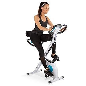 Klarfit Azura Plus 3-in-1 Heimtrainer • Fitnessbike • Fitness-Fahrrad •...