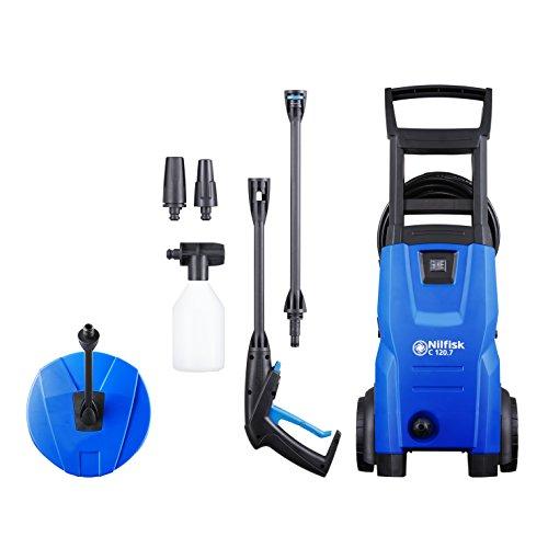 Nilfisk C 120.7-6 PC EU Hidrolimpiadora de Agua a Presión, 1400 W, Azul