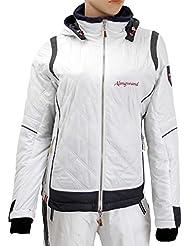 Almgwand staatz Op Mujer Chaqueta de esquí también en con pelo blanco