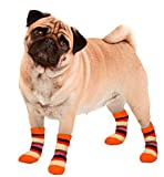 Karlie 514611 Chaussettes pour Chien Rayures S