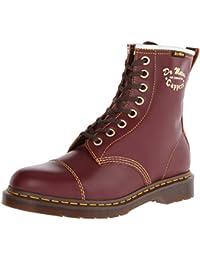 Dr. Martens 1460 Capper Boot Philips, Botas Militares Unisex, Rojo (Bordeaux), 40