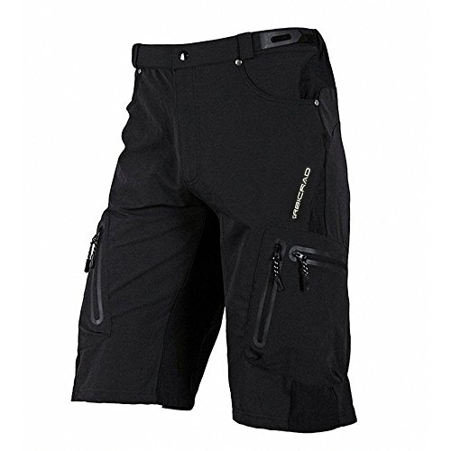 bicrad herren mtb shorts radsport kurze fahrrad hosen freizeit ohne sitzpolster xxl taillen. Black Bedroom Furniture Sets. Home Design Ideas