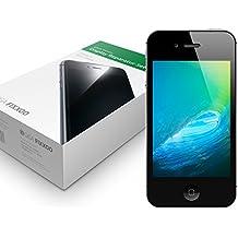 GIGA Fixxoo iPhone 4s Display schwarz im Komplettset Ersatz Für Touchscreen Glas Reparatur