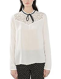 ESPRIT Collection Damen Bluse 126eo1f010