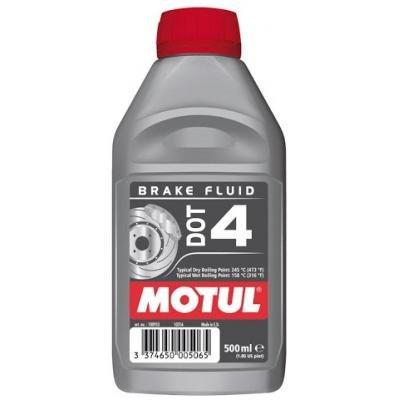 Olio idraulico liquido per freni HIDRAULICOS DOT 4 BRAKE FLUID 0,5L 500m