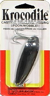 Luhr Jensen Krocodile Spoon, Chrome, 1-Ounce by South Bend Sporting Goods