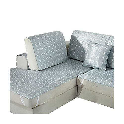 ALGWXQ Sitzauflage Esszimmerstuhl Auto Sparzustand Ice Silk Große Weiche Tragbare Kissen Ergonomische Kissen Für Schaukel Indoor Outdoor Plissee Runden Kissen Rollstuhl Air, 18 Größe
