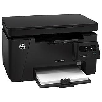 HP LaserJet Pro M125A Stampante Stampante Multifunzione, Display LED, A4, USB 2.0 Hi-Speed, Nero