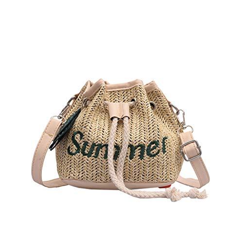 OIKAY Mode Damen Tasche Handtasche Schultertasche Umhängetasche Mode Neue Handtasche Frauen Umhängetasche Schultertasche Strand Elegant Tasche Mädchen 0605@002 - Kimono-tasche Geldbörse