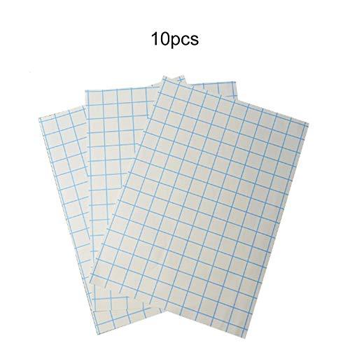 10 Blatt A4 Transferpapier Digital Thermal Tear Typ Dunkle Farbe Schneller Druck für jedes Material Baumwollgewebe Inkjet Eisen - Weiß -