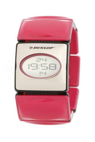 Dunlop DUN-73-L05 - Orologio da polso donna, plastica, colore: rosa