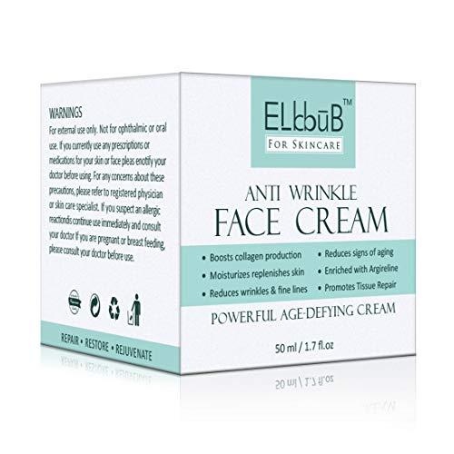Hyaluronsäure Anti-Aging Creme - Hyaluronsäure Serum mit Hexapeptid, Retinol, Ascorbinsäure-Antifalten, reduziert Zeichen der Hautalterung - Anti-Falten Serum für Gesicht Hals Augen - Naturkosmetik