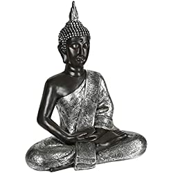 Gran estatua de Buda meditando - 62 cm de alto