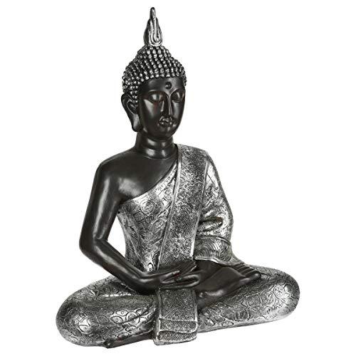 Große Buddha-Statue – Höhe: 62 cm - 4