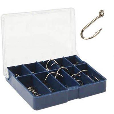 Angelhaken-Set in einer Box, 3-12mm, 10 Größen