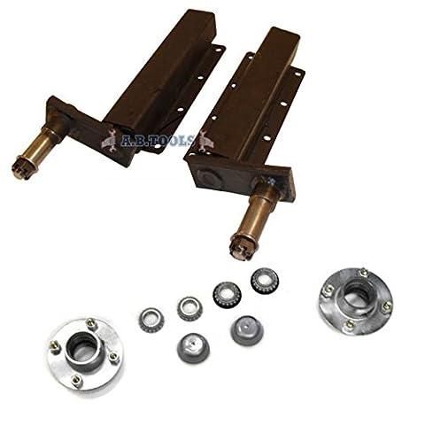 500kg remorque indépendante des unités de suspension avec moyeux PAIRE TRSP30_33