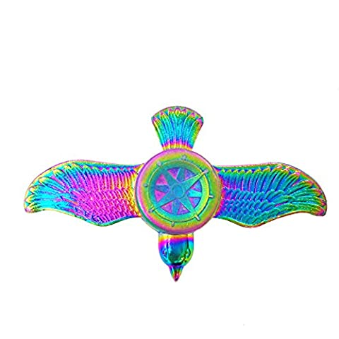 Samidy Colorful Fidget Spinner Bird Design Hand Spinning Toy EDC Focus Stress Reducer Toy