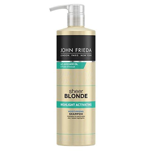 John Frieda Sheer Blonde Highlight Aktivierendes feuchtigkeitsspendendes Shampoo, 500ml -