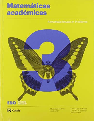Matemáticas 3 Académicas ESO (Código abierto)