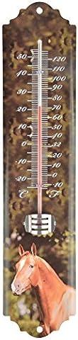 Thermomètre mural cheval Cheval