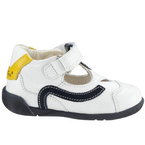 Primigi FABIO 2305000, Chaussures premiers pas garçon Blanc-TR-SW361