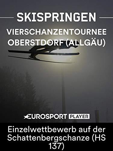 Skispringen: Vierschanzentournee 2018/19-1. Station in Oberstdorf (Allgäu) - Einzelwettbewerb auf der Schattenbergschanze (HS 137)