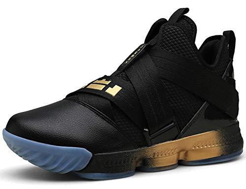 SINOES Basketball Schuhe Herren Outdoor Anti-Rutsch Sneaker High-Top Sportschuhe Laufeschuhe Atmungsaktiv Ausbildung Turnschuhe Verschleißfeste Dämpfung Basketballstiefel - Schuhe High Armour Under Tops