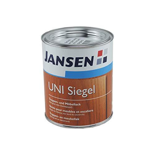 0,75L Jansen UNI Siegel Treppen- und Möbellack farblos Lack Holzlack