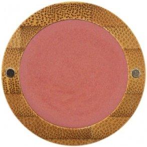 ZAO Pearly Eyeshadow 111 pfirsichblüte pink-orange Lidschatten schimmernd / Perlglanz in nachfüllbarer Bambus-Dose (bio, Ecocert, Cosmebio, Naturkosmetik)