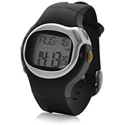 Sports Exercise Fitness Watch - Heart Rate Pulse, Calories, Alarm clock, Day, Date and Stopwatch- Ideal Christmas gift
