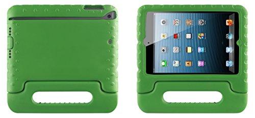 muvit MUCTB0256 infantil-Schutzhülle mit Standfunktion für Apple iPad Mini mit Retina-Display, Grün (Fundas Para Ipad Mini)