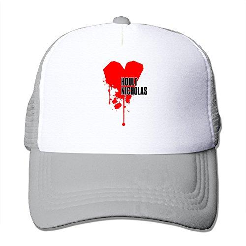 xj-cool-love-nicholas-cappello-berretto-da-baseball-snap-back-in-mesh-leggero-ash-taglia-unica
