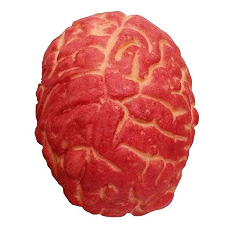 Geräte Blutige künstliche Gehirn Halloween Streich Spielzeug Horror Requisiten Körperteil Organ Scary Spielzeug Karneval Dekor ()