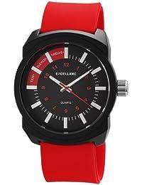 Excellanc Herren-Armbanduhr XL Analog Quarz Kautschuk 225675000020