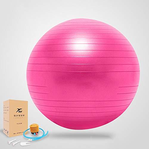 XUE Übung Thick Yoga Ball Chair, Anti-Burst Heavy Duty Stability Ball unterstützt Birthing Ball mit Schnellpumpe (Office & Home & Gym) (Stability Ball Chair)
