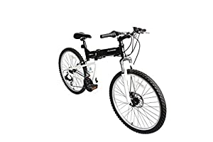 "ECOSMO 26""Wheels New Aluminium Folding MTB Bicycle Bike SHIMANO- 26AF18BL"